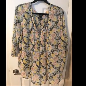 NWOT multicolored blouse from Torrid size 2